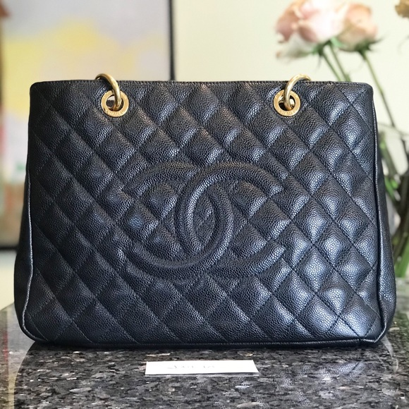 a07778e7af84 CHANEL Bags | Authentic Grand Shopping Tote Bag Gst | Poshmark